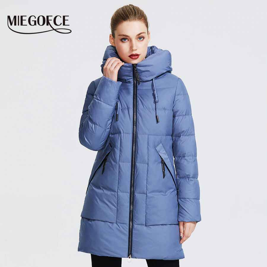 Miegofce 2019 Winter Women Collection Women s Warm Jacket Made With
