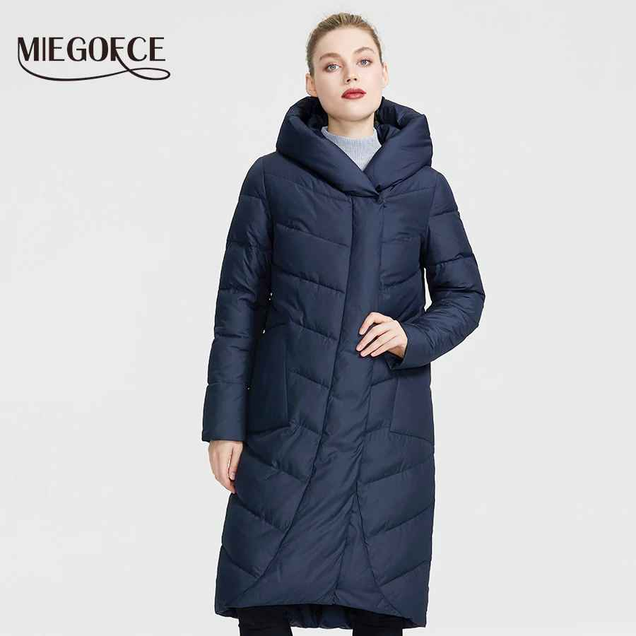 Miegofce 2019 The New Winter Women Collection Jacket Winter Women