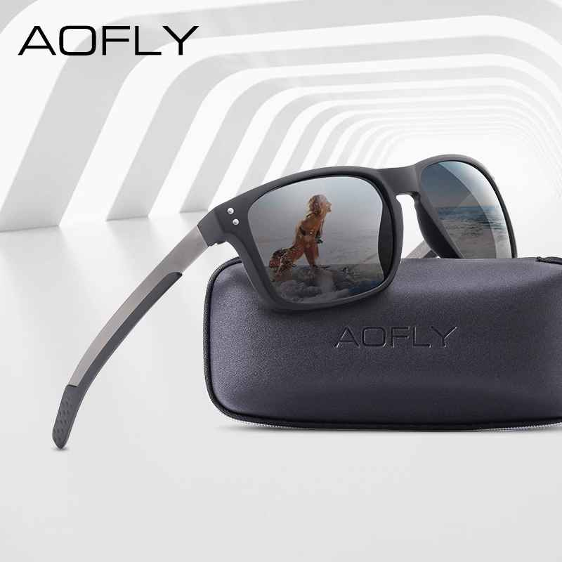 Classic Polarized Sunglasses Men Mirror Drive Sunglasses Male Tr90 Flexible
