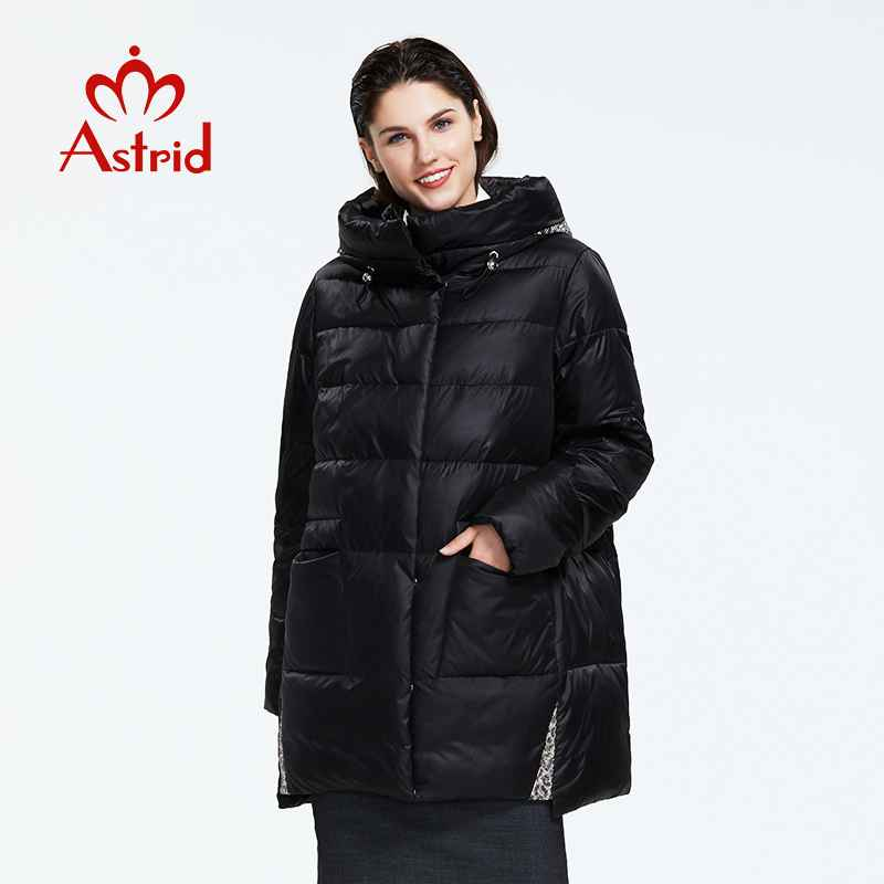 Astrid2019 Winter New Arrival Down Jacket Women Loose Clothing Outerwear