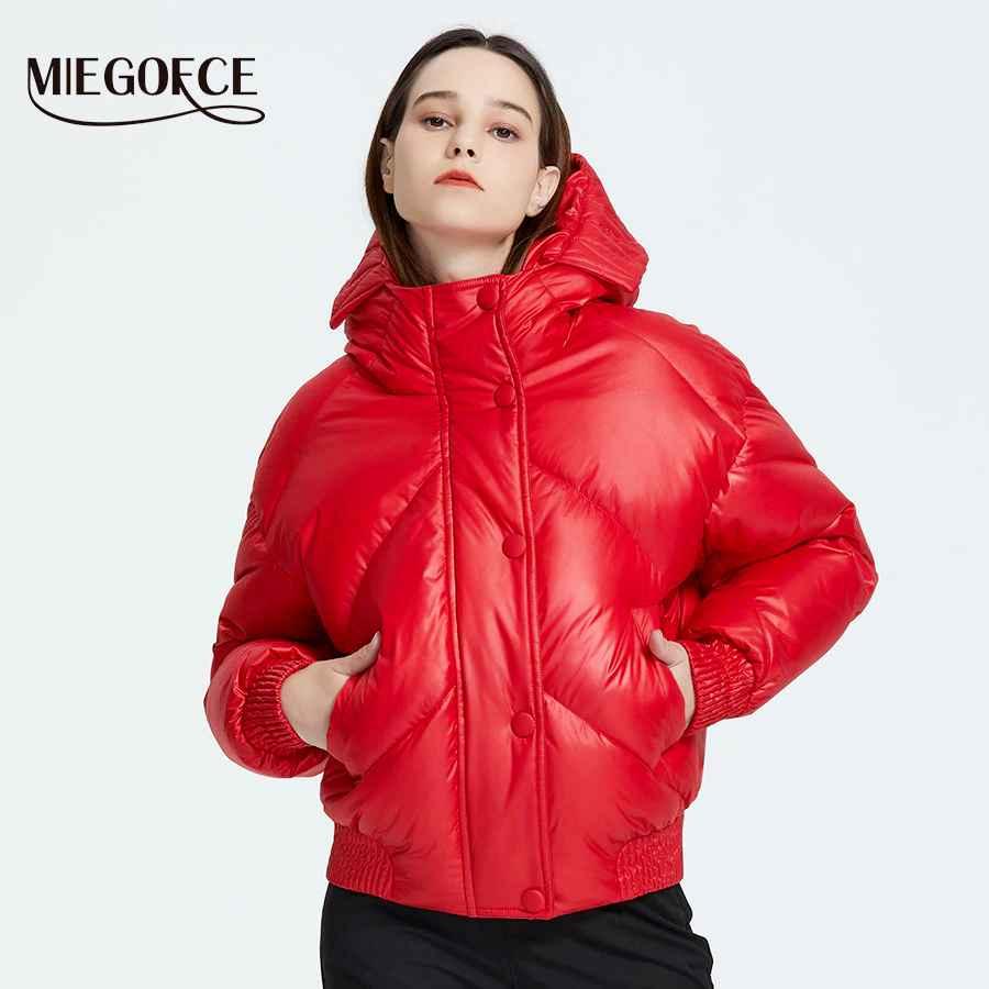 Miegofce 2019 New Design Winter Coat Women s Jacket Insulated Cut