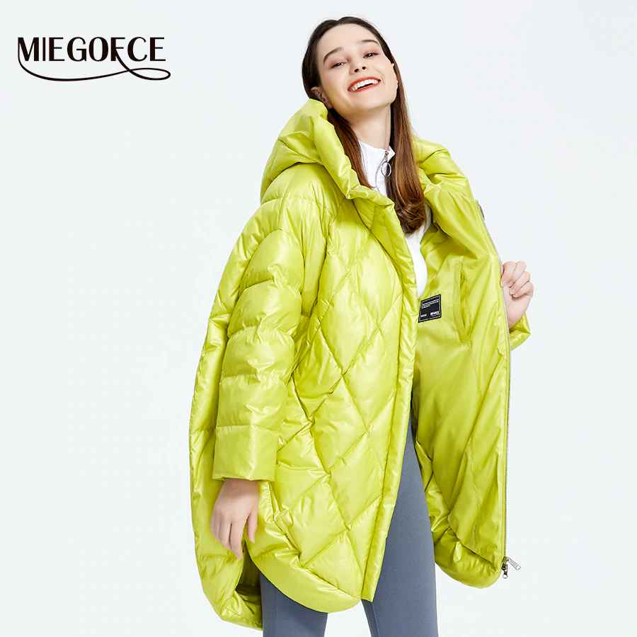 Miegofce 2019 New Design Luxury Women s Jacket Bright Colors Casual