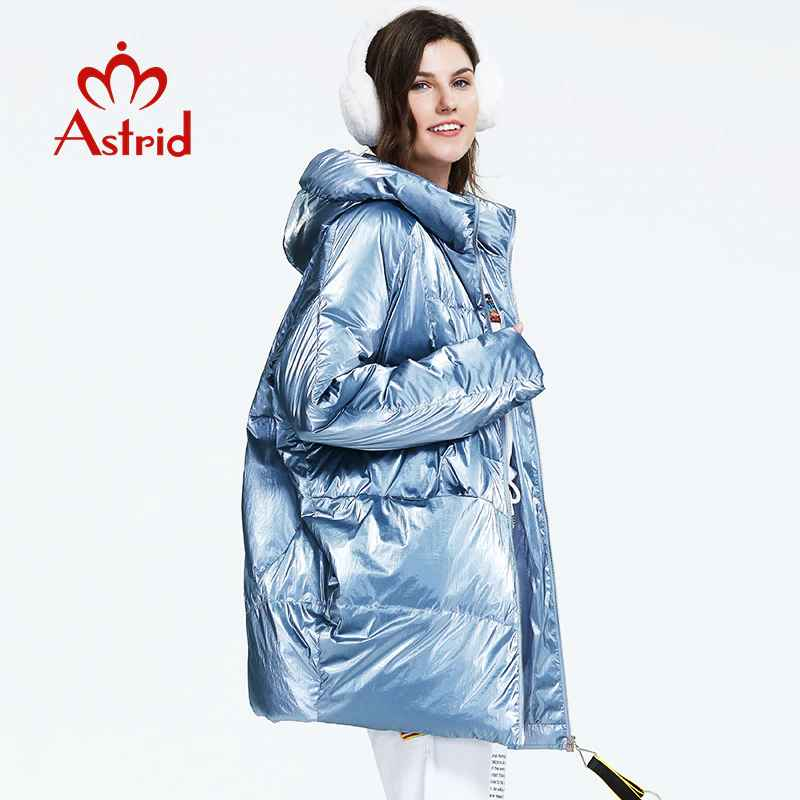 Astrid 2019 Winter New Arrival Down Jacket Women Loose Clothing