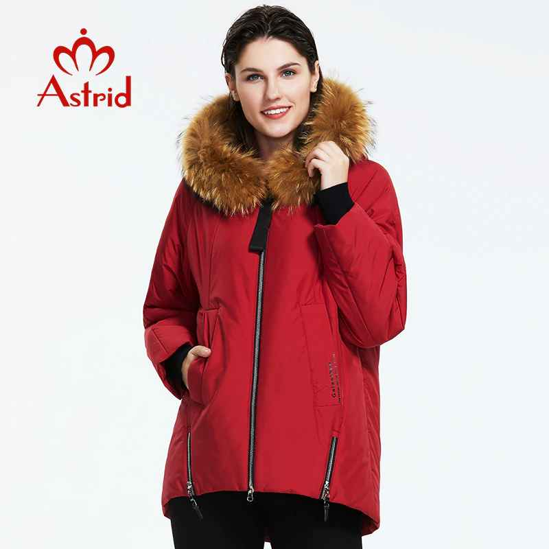 Astrid2019 Winter New Arrival Down Jacket Women And Fur Collar