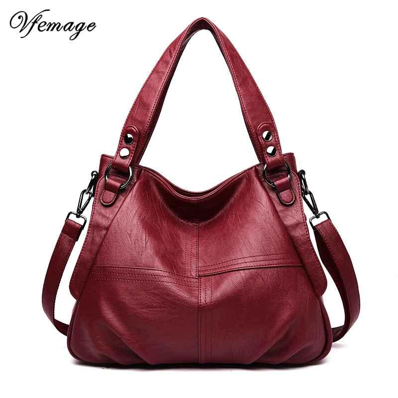Leather Ladies Handbag Female Messenger Bag Designer Crossbody Bag For
