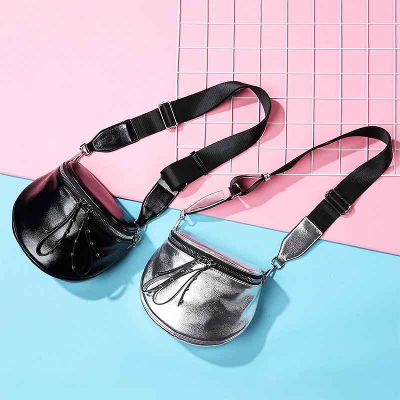 Women Crossbody Bags 2019 Small Shoulder Bag Female Wide Strap