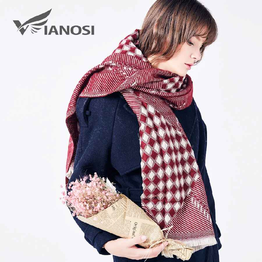 Fashion Winter Warm Scarf Women Foulard Femme Brand Bufandas Mujer