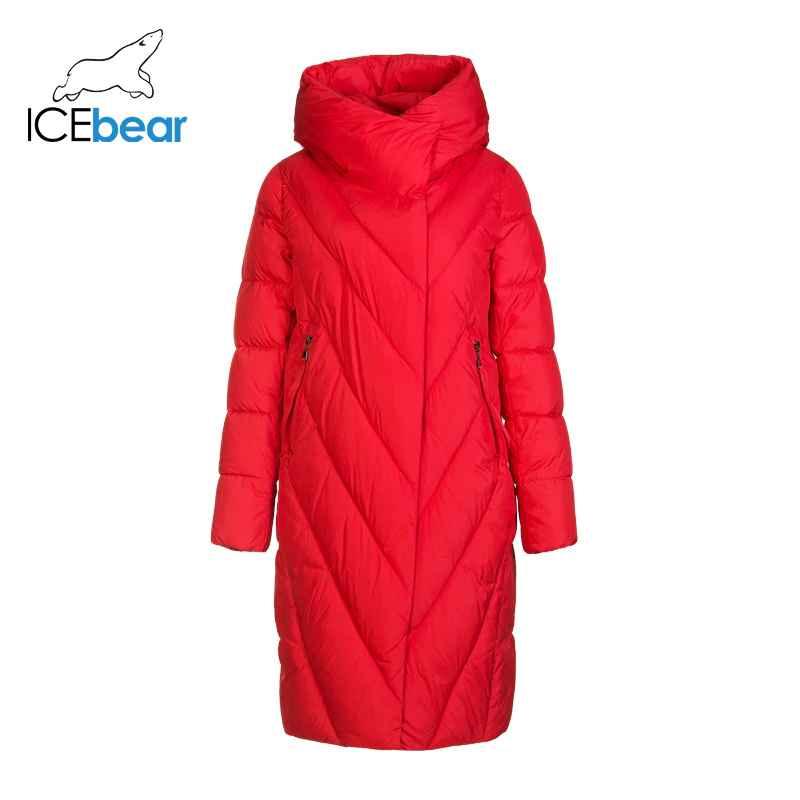 Icebear 2019 New Winter Long Women s Down Jacket Fashion Warm