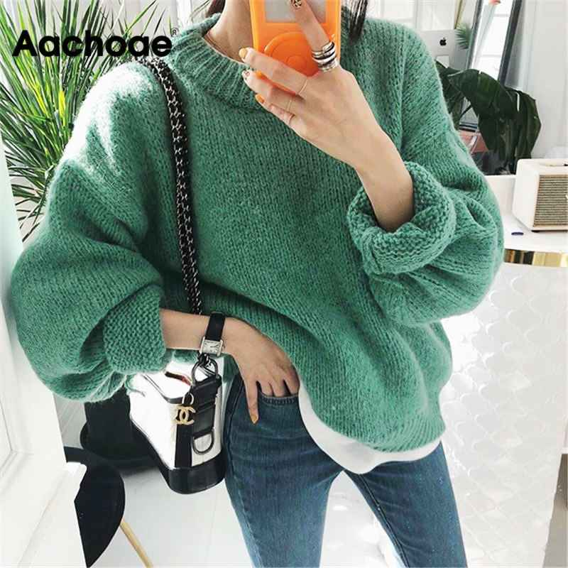 Womens Sets Sweater Women 2019 Autumn Winter Fashion Solid O