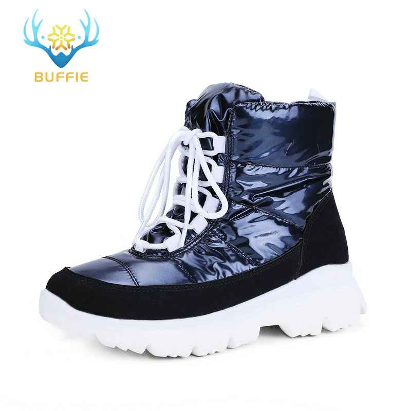 2019 New Women Snow Boots Winter Warm Boots Short Low