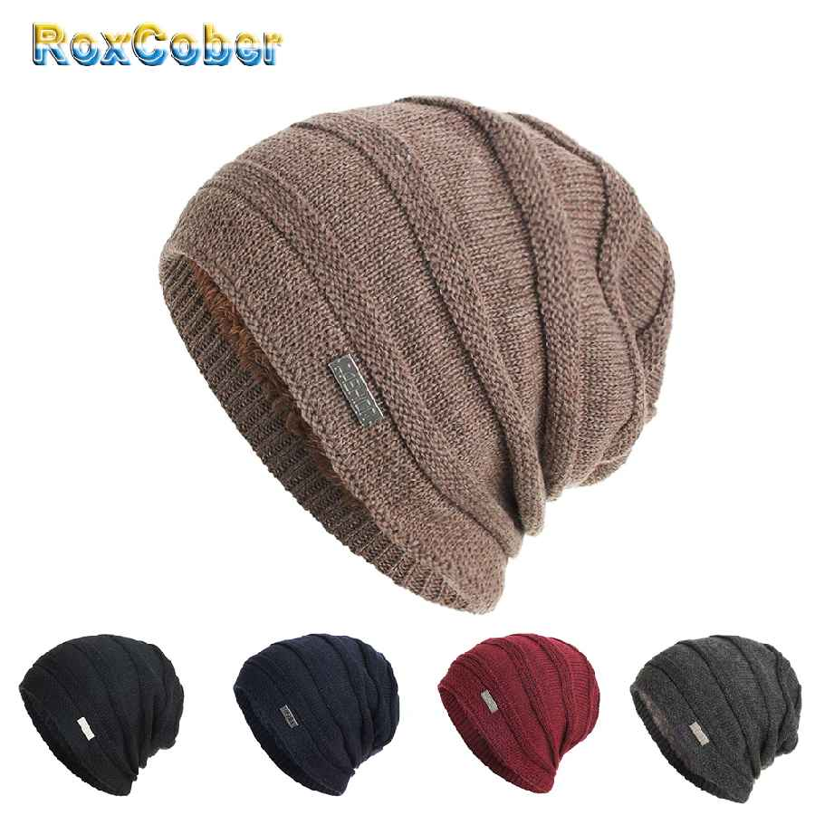 Winter Warm Hats Skullies Beanies Cap Beanie For Men Women