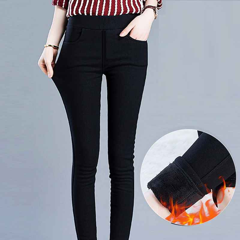 Leggings winter leggings women plus size high waist stretch thick