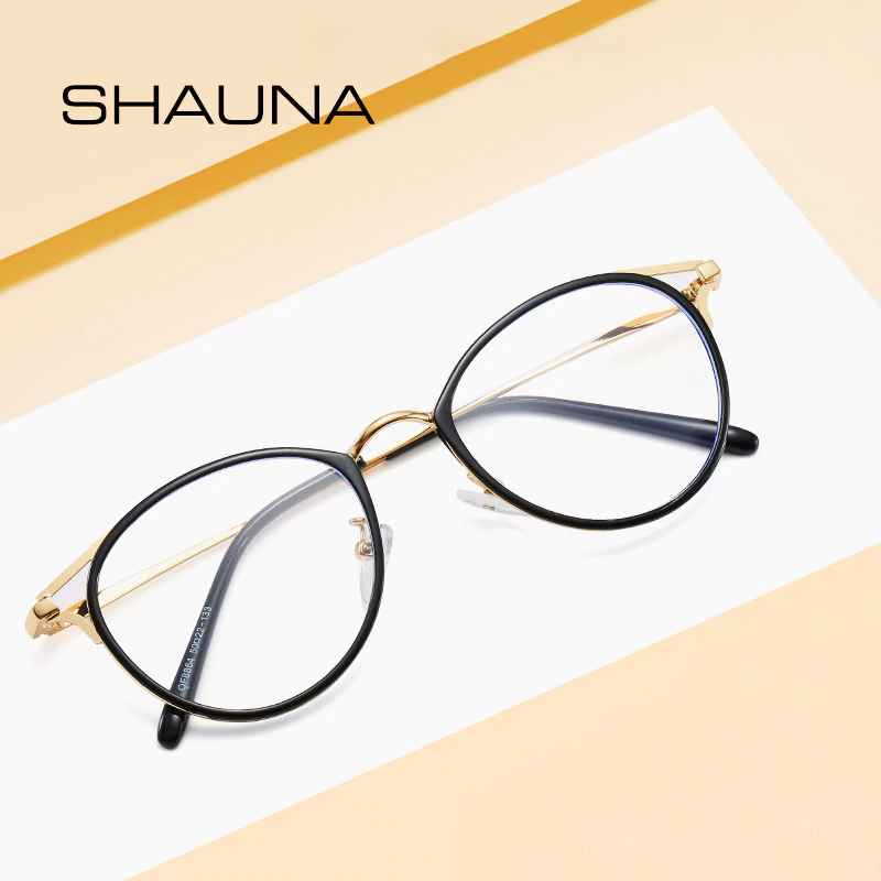 Shauna New Arrival Women Men Retro Fashion Classic Round Glasses