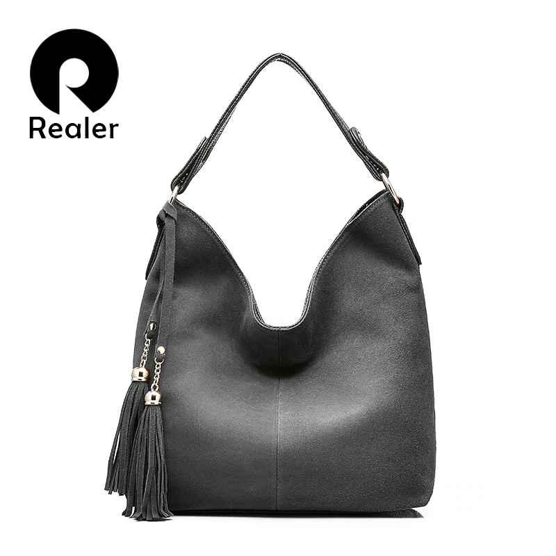 Women Handbag Leather Shoulder Messenger Bag Female Hobos Tote Ladies