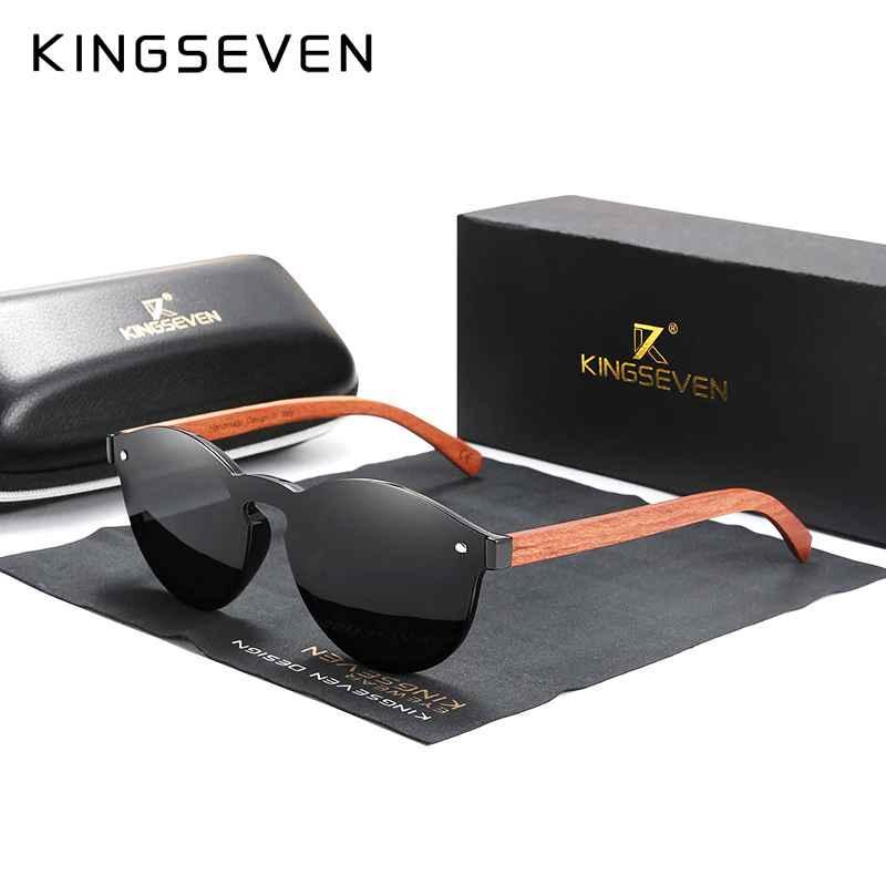 Custom Logo Natural Wooden Sunglasses Bubinga Men's Polarized Glasses Wooden