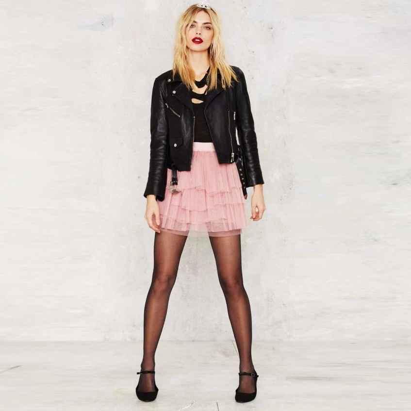 Skirts fashion mini tulle skirt tutu tiered tulle zipper waist