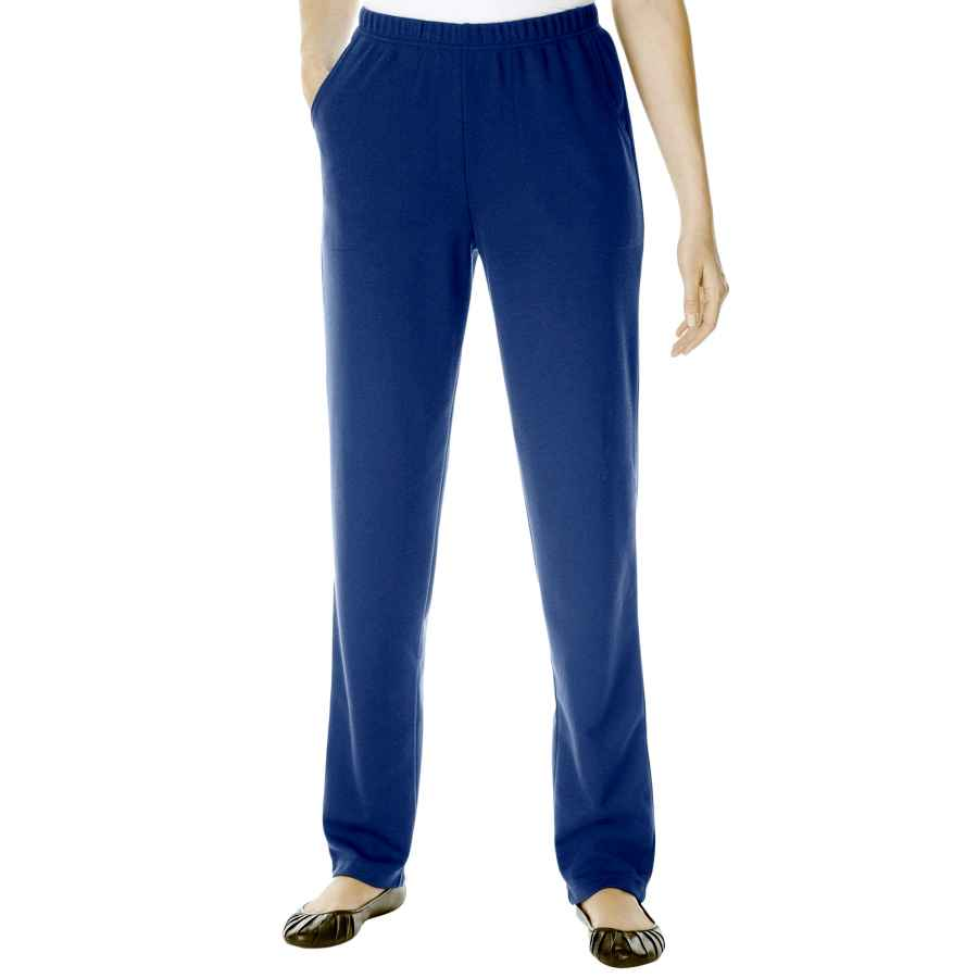Pants Wear To Work Woman Within Women's Plus Size Straight