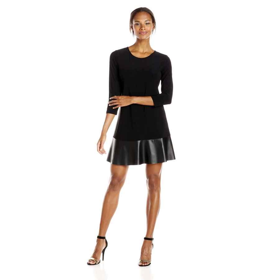 Party Dresses Tiana B Women's 3/4 Sleeve Knit Swing Dress