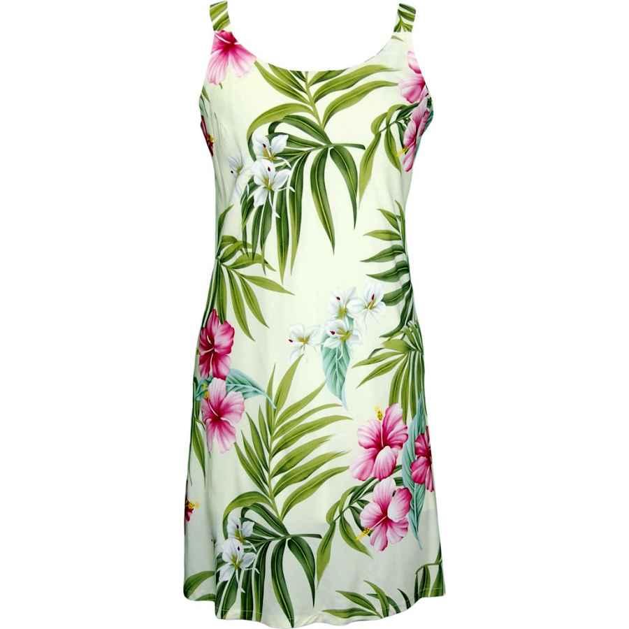 Womens Casual Dresses Rjc Women's Breathtaking Island Getaway Short Hawaiian Bias Cut Slip Dress