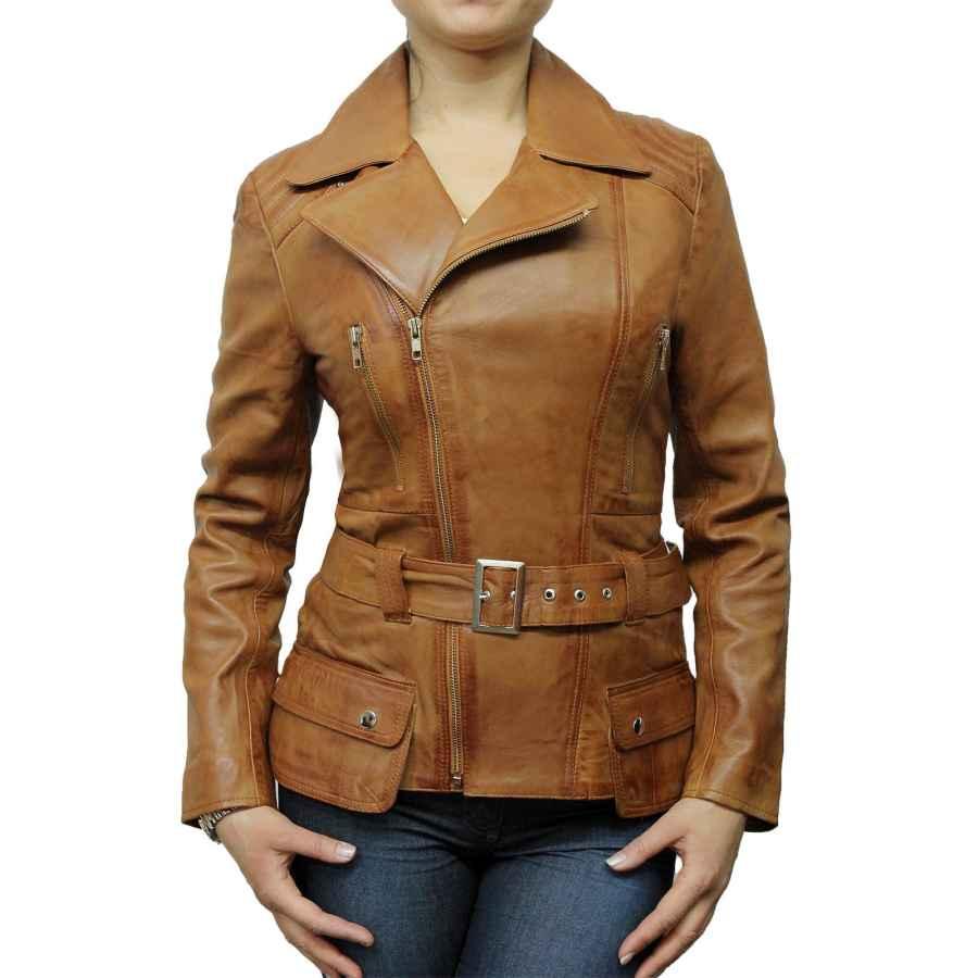 Allegra K Women's Short Soft Zip Up Faux Suede Biker Moto Jacket