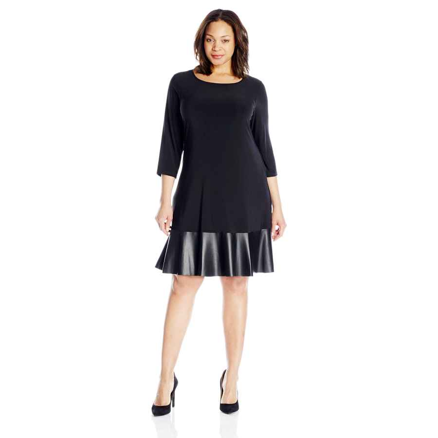 Party Dresses Tiana B Women's Plus Size 3/4 Sleeve Knit