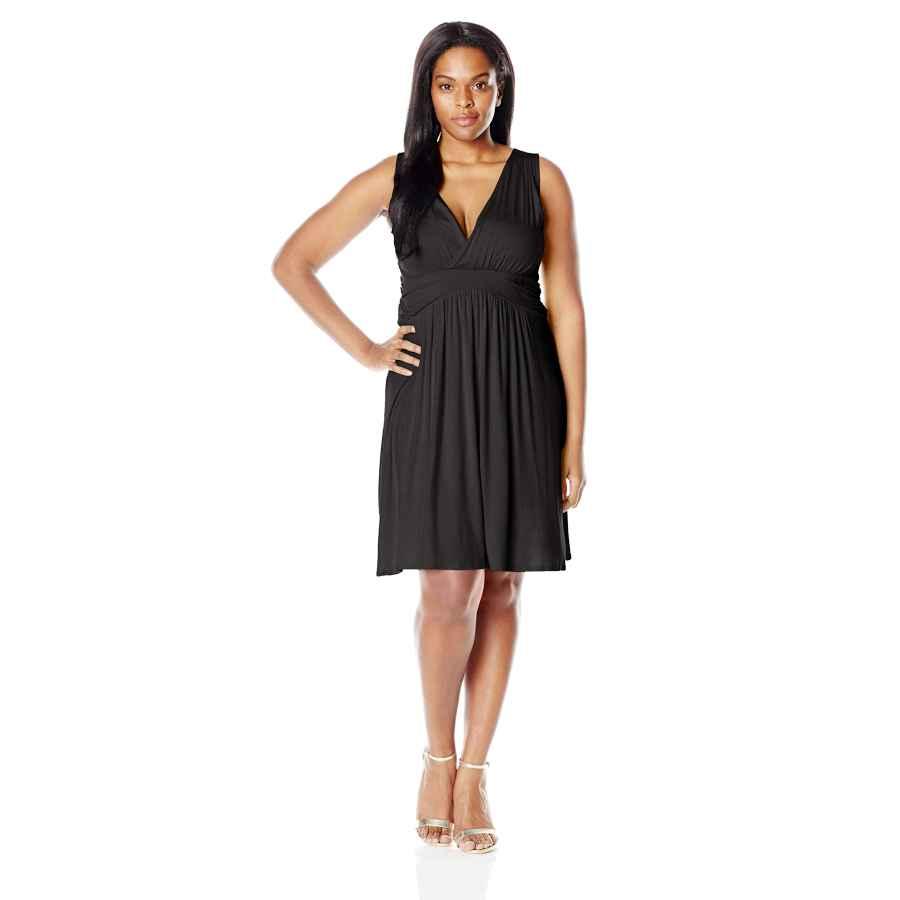 Womens Casual Dresses Star Vixen Women's Plus-Size Sleeveless Summer Sun Dress