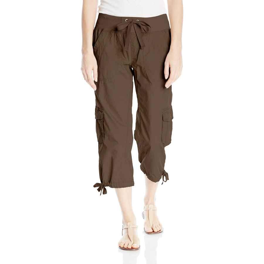 Pants Casual Calvin Klein Performance Women's Rib Waistband Woven Cargo