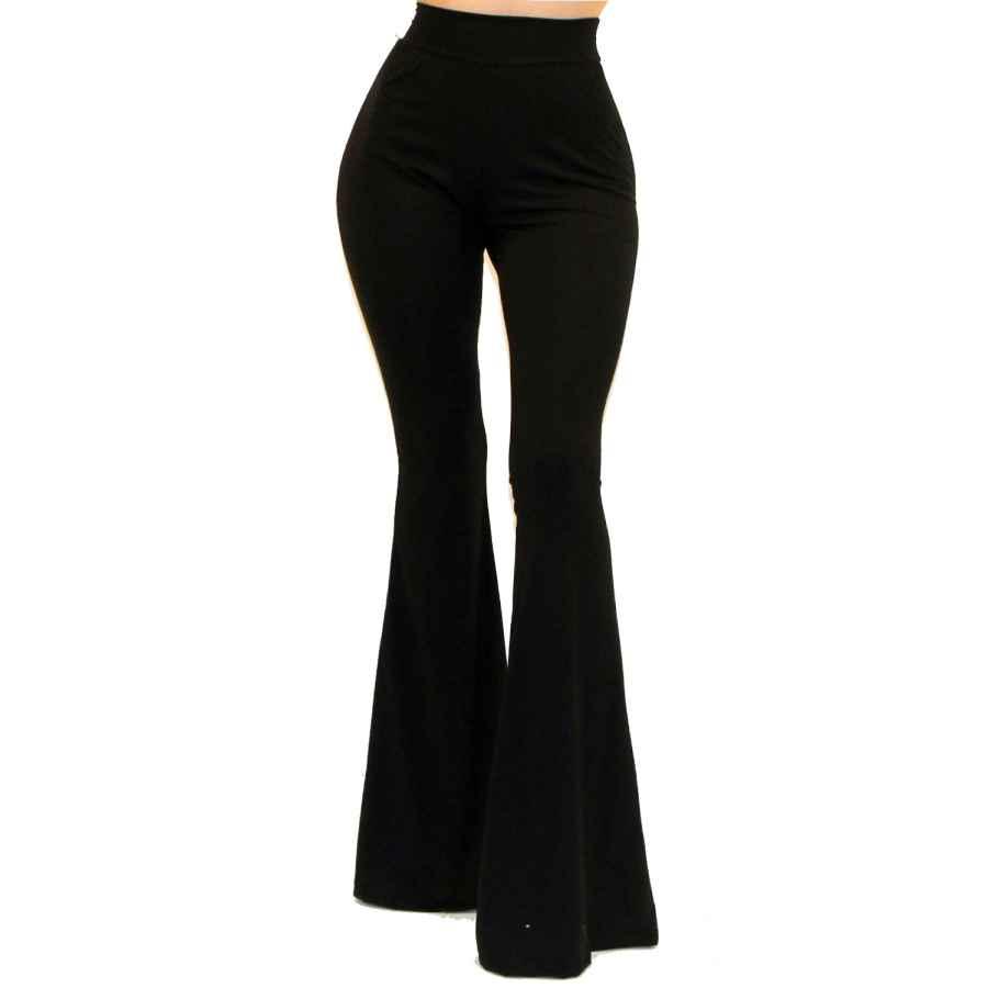 Pants Casual Vivicastle Women's Usa Boho Solid Hippie Wide Leg