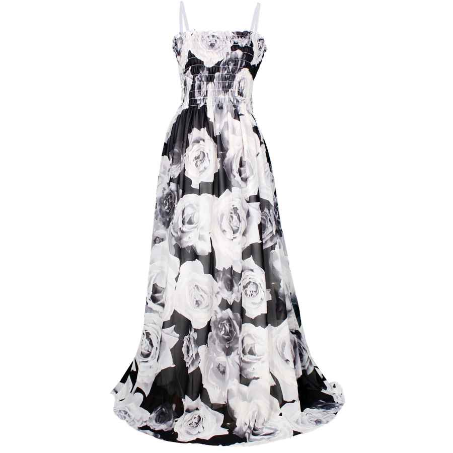 Womens Casual Dresses Mayridress Maxi Dress Plus Size Clothing Black Ball Gala Party Sundress Evening Long Floral Women