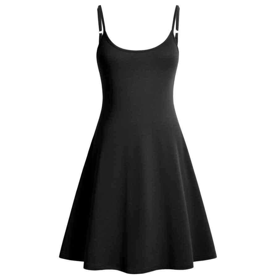 Womens Casual Dresses Perfashion Women's Sleeveless Adjustable Spaghetti Strap Slip Sleep Basic Dress