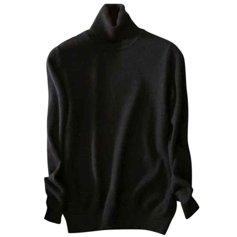 SANGTREE Womens Cashmere Blend Hooded Knit T-Shirt