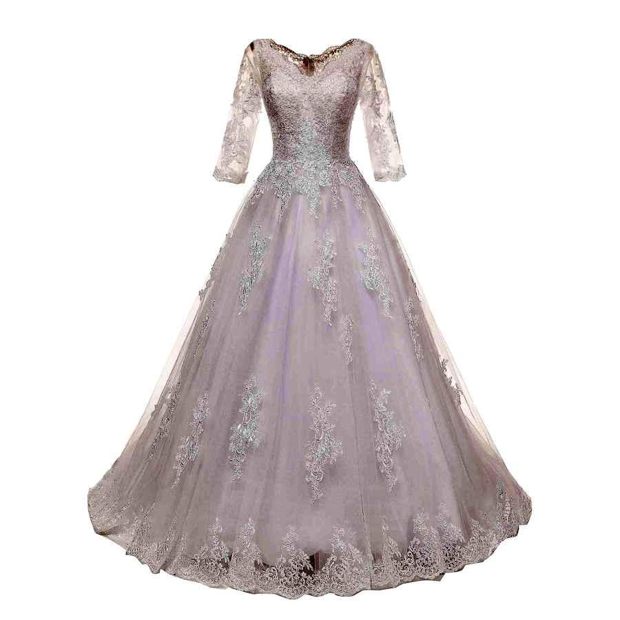 Wedding Dresses Women's Plus Size Bridal Ball Gown Vintage Lace