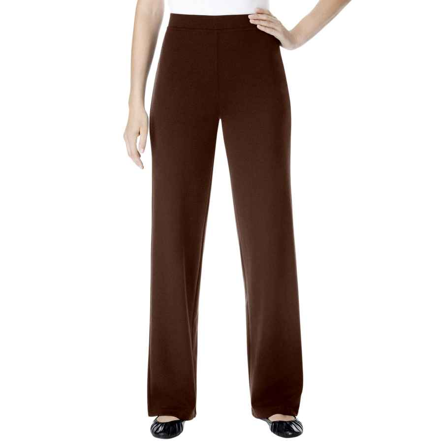 Pants Casual Woman Within Women's Plus Size Tall Wide Leg