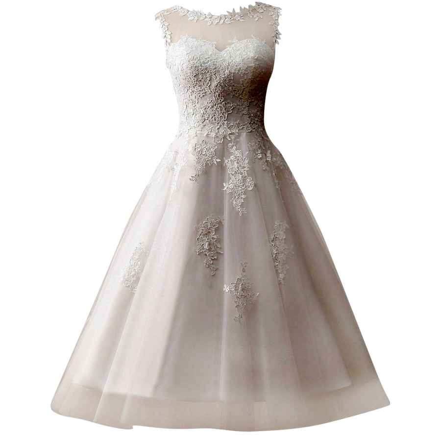 Cocktail Dresses Wedding Dress Lace Bride Dresses Short Wedding Gown