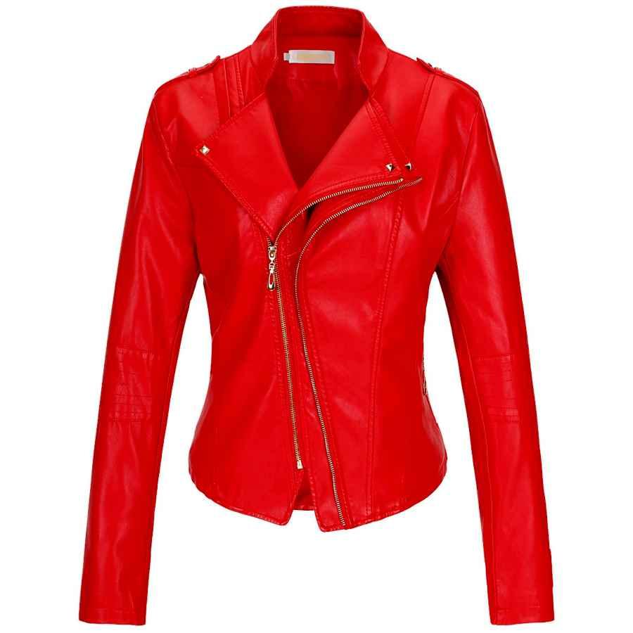 Fahsyee Women's Suede Jacket