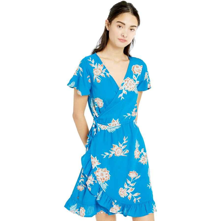 Womens Casual Dresses Roxy Women's Sun Dreamer Season Wrap Dress