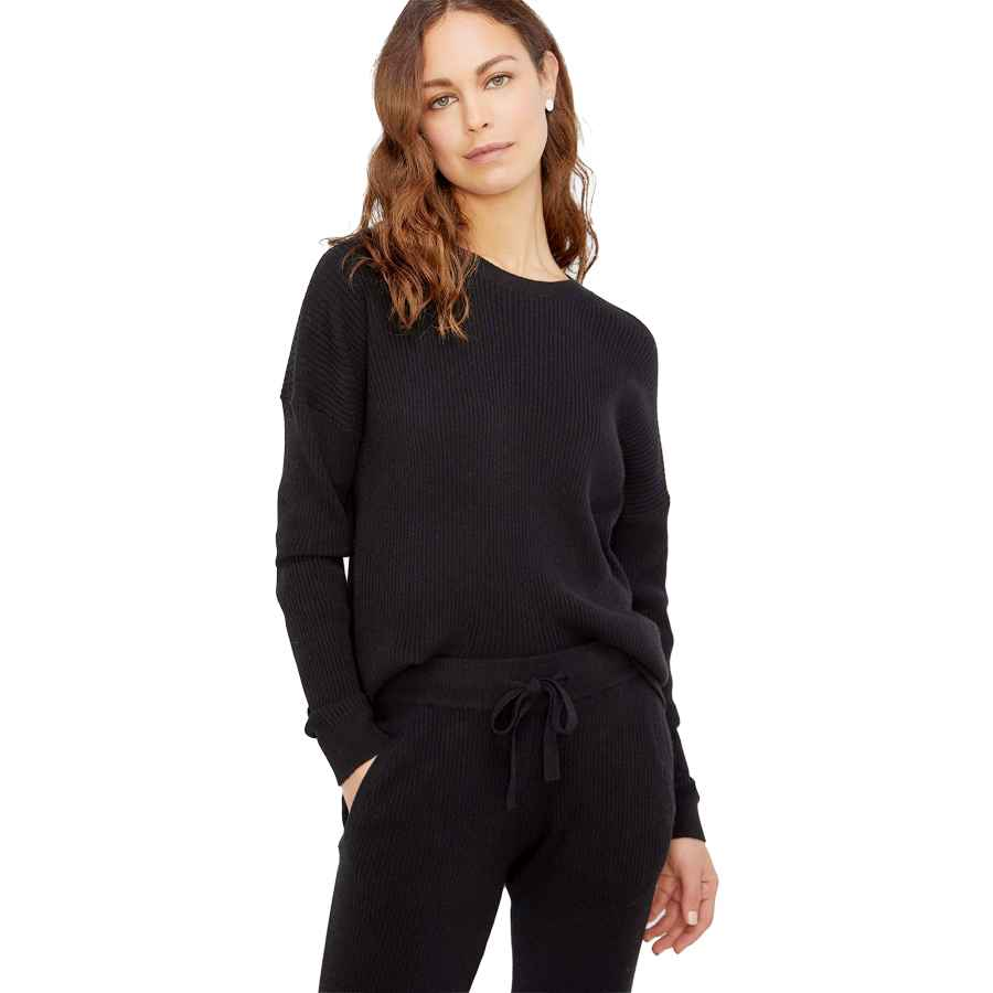 Pullower State Cashmere Women�â�€�™s 100% Pure Cashmere Knitted Loungewear Matching
