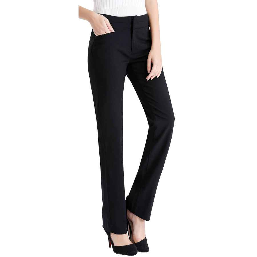 Women's Wear to Work Pants - Moving Device Dress Pant With
