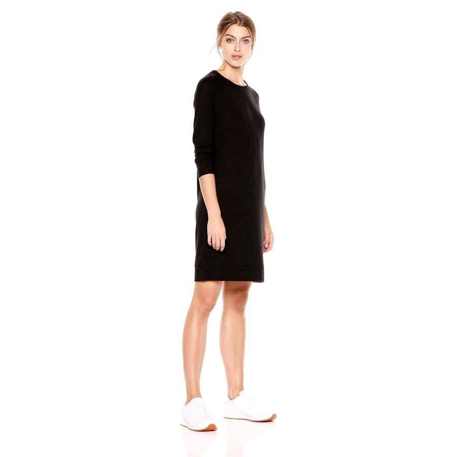 Womens Casual Dresses Amazon Brand - Daily Ritual Women's Cozy Knit Raglan Sweatshirt Dress