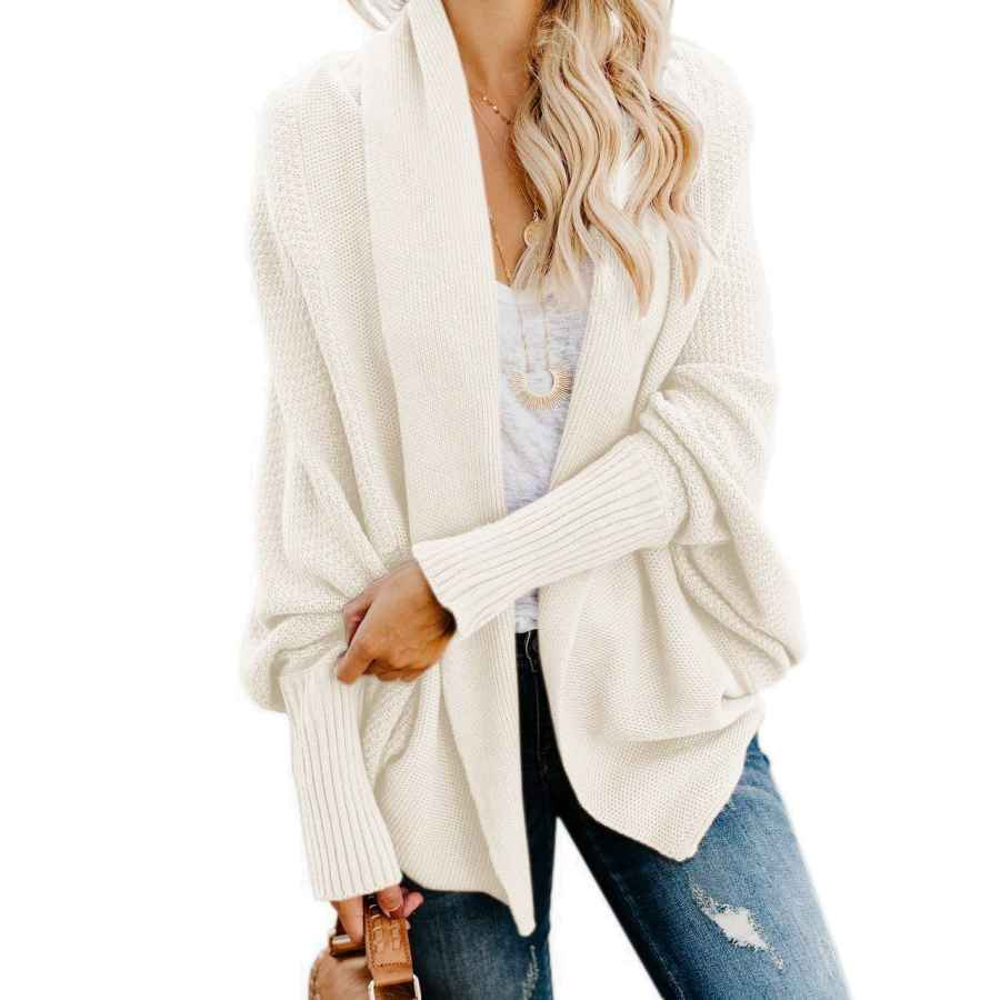 Cardigans Imily Bela Womens Kimono Batwing Cable Knitted Slouchy Oversized