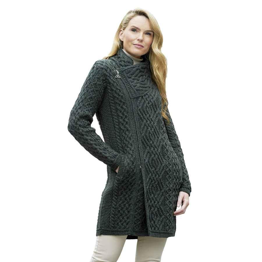 Cole Haan Women's Wool Twill Topper
