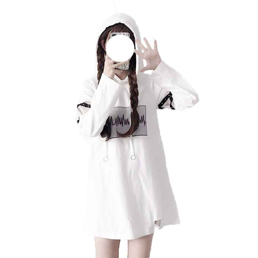 Womens Casual Dresses Packitcute Harajuku Black Dress