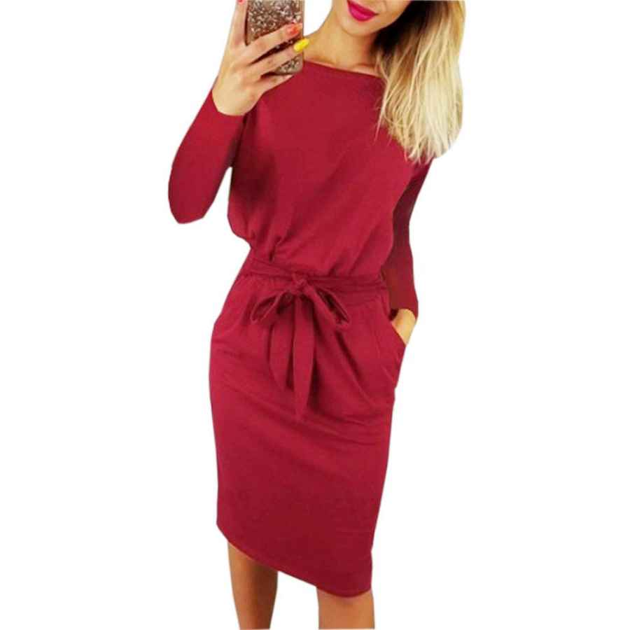 Party Dresses Paskyee Women's Elegant Wear To Work Casual Pencil