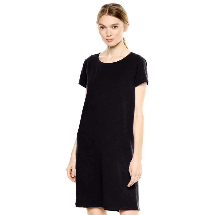 Womens Casual Dresses Amazon Brand - Daily Ritual Women's Lived-In Cotton Crewneck T-Shirt Dress