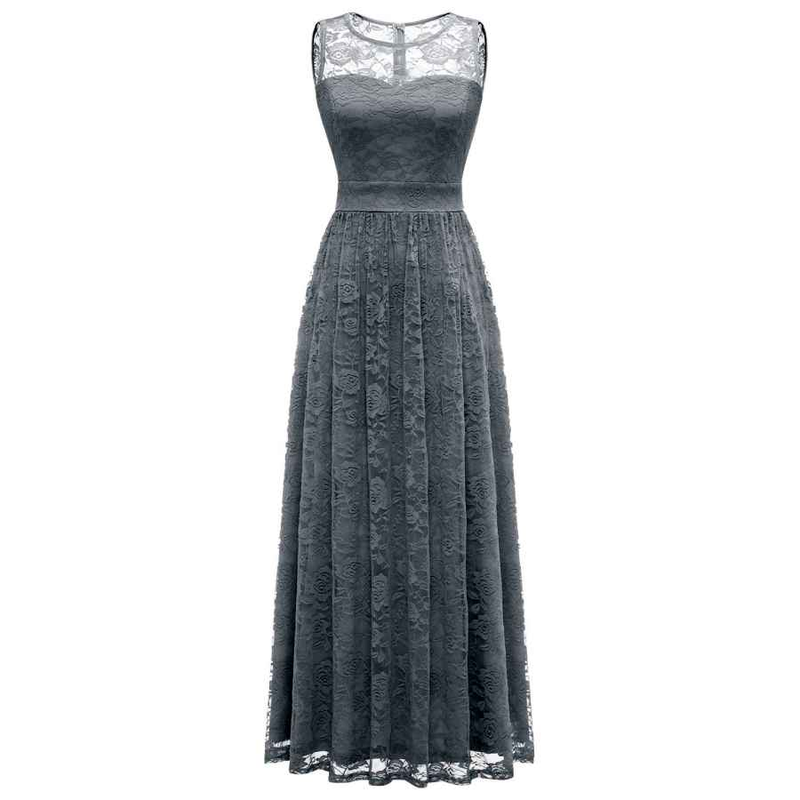 Cocktail Dresses Wedtrend Women's Floral Lace Long Bridesmaid Dress Party