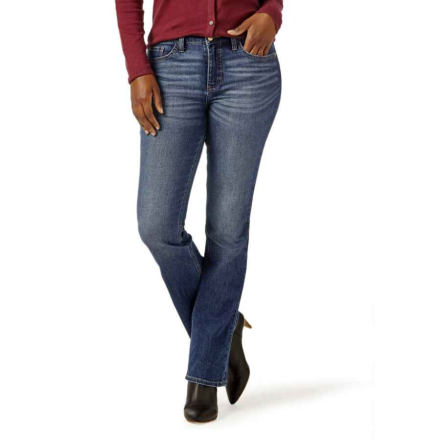 Riders by Lee Indigo Womens Plus Size Midrise Bootcut Jean Jeans