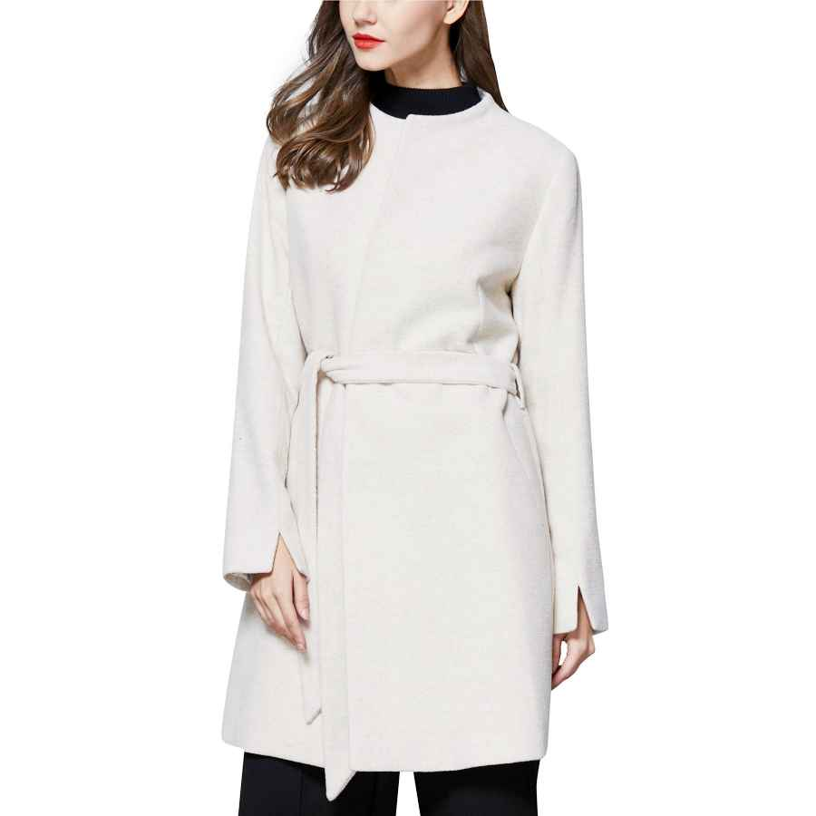 Vovotrade Womens Jacket Warm Artificial Wool Coat Fashion Winter Zipper Parka Outerwear