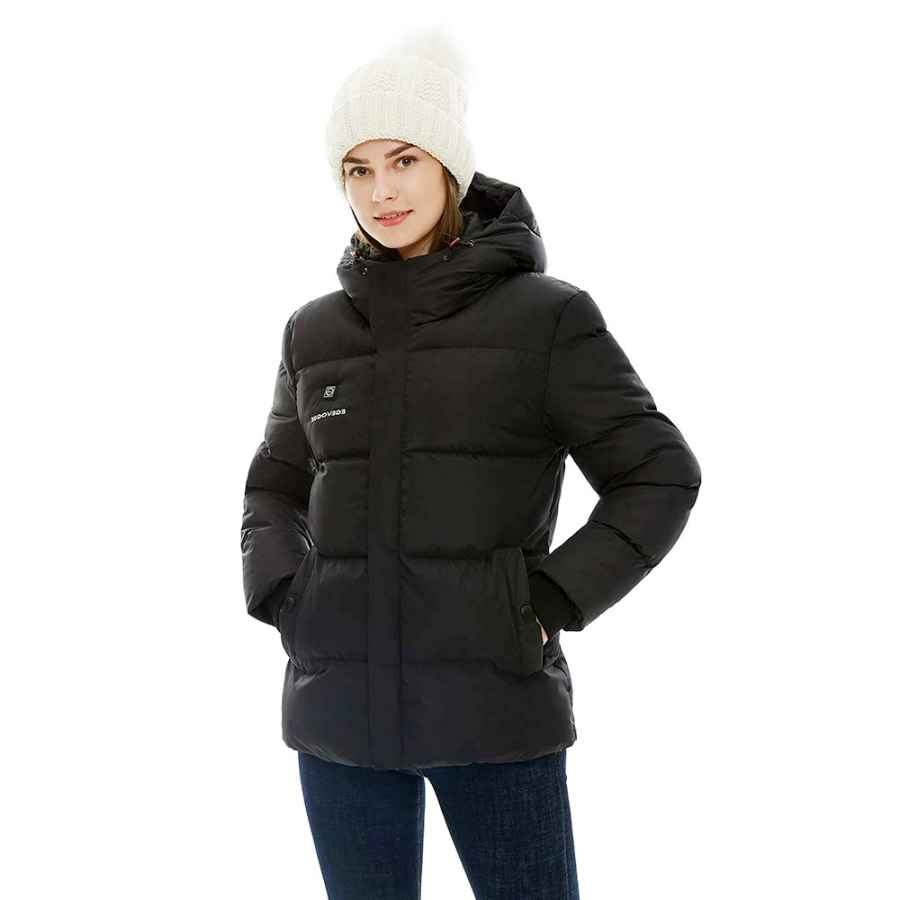 2019 New Women's Heated Jacket With Battery Pack