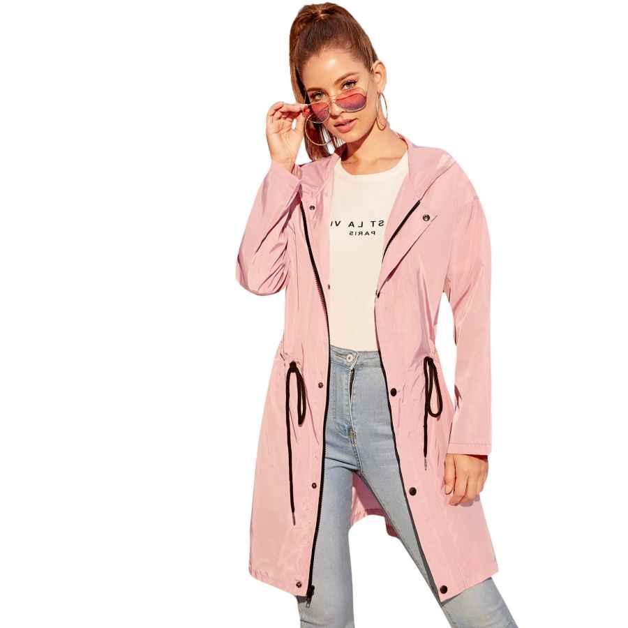 Milumia Women's Color Block Zip Up Sports Active Outdoor Jacket Windproof Windbreaker