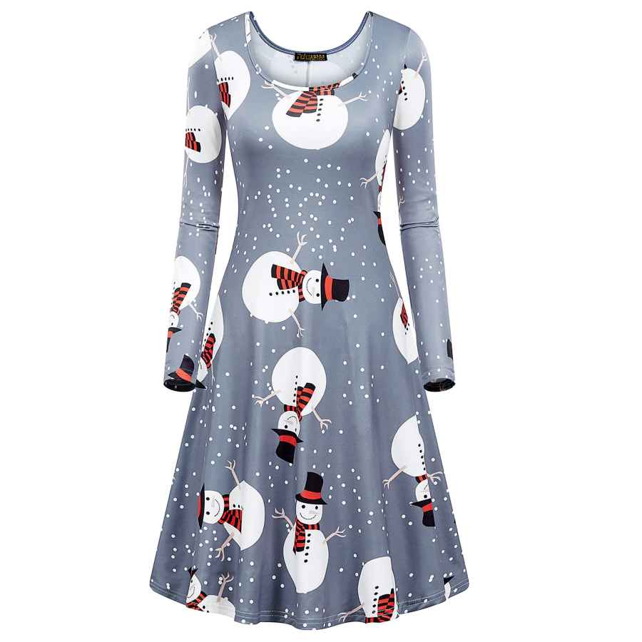 Womens Casual Dresses Nashalyly Christmas Dresses